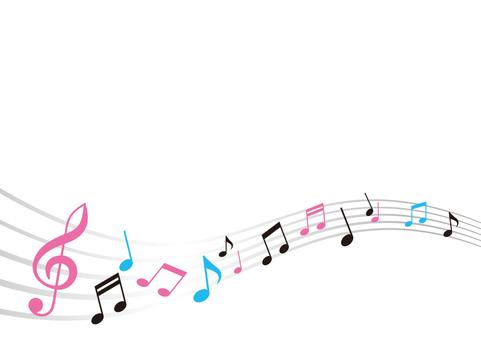 장식 소재 005 음악