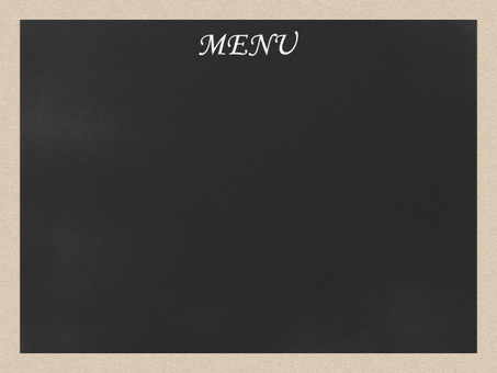 Blackboard / Menu board