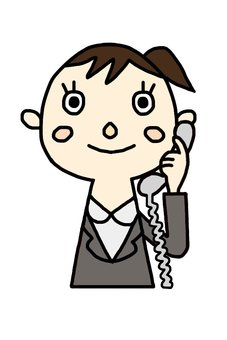 Female employee to call