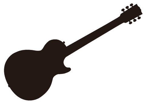 Silhouette Electric Guitar 3
