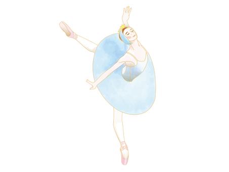 Ballet dancer_Swan Lake