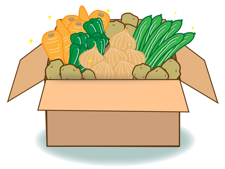 All-you-can-eat vegetables 2 (full heap box)