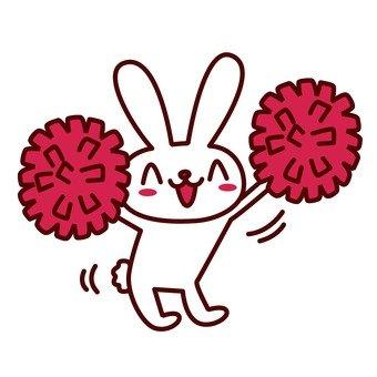 Rabbit cheerleader 2