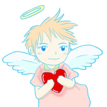 Angel with Heart 04 (Bust Up)