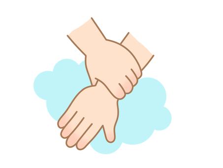 Hand washing wrist (small)