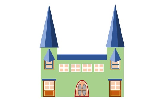 Large house green