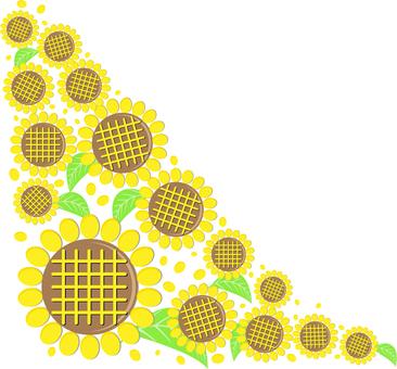 Sunflower decoration 08