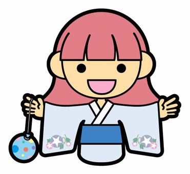 Girls (Yukata)