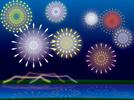River fireworks