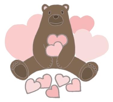 Heart and Bear