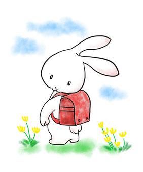 School bag rabbit 2