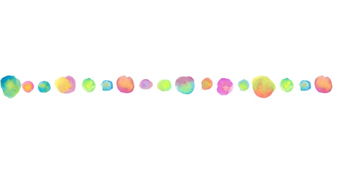 Water color ball line