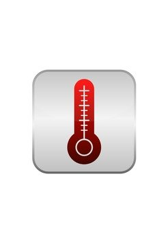 Picto thermometer