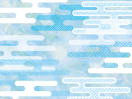 Background Japanese Pattern Pattern Watercolor Texture Japanese Style Wallpaper