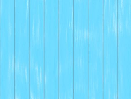 板牆塗有天藍色油漆