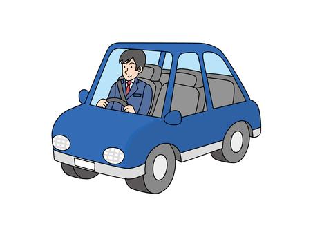 Employee 2 on sales vehicle 2