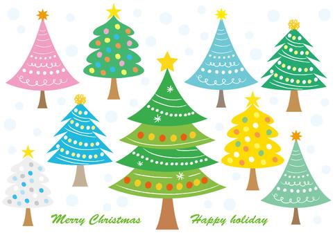 Christmas tree material