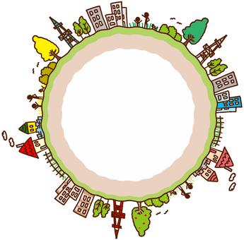 Circle town