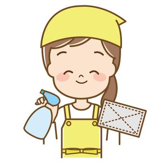 家庭主婦(清潔)