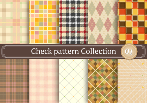 Check pattern 01