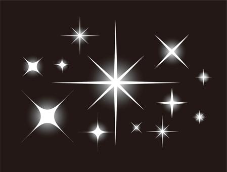 별 ★ 반짝 반짝 별 ★ 세트 (빛나는 星群)