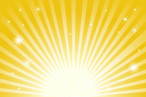 背景 壁紙 フレーム 黄金の放射線