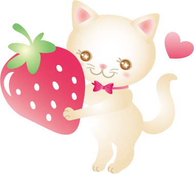Strawberries and cats