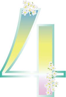 Yukiyanagi _ Gradation _ Flower Font 5