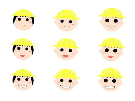 【Set】 Child's expression (boys / girls)