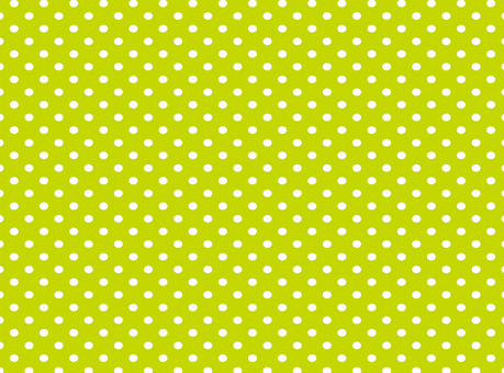 Polka dot pattern yellow green ★ 0128-B