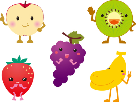 Anthropomorphic fruit large collection!