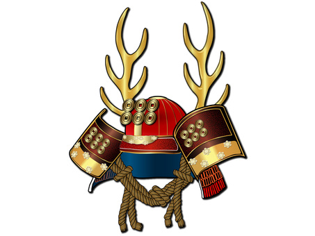 Helmet (Yukimura Sanada) obliquely from front