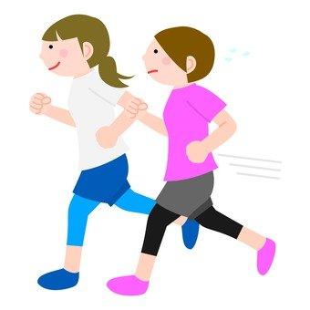 Jogging women 1