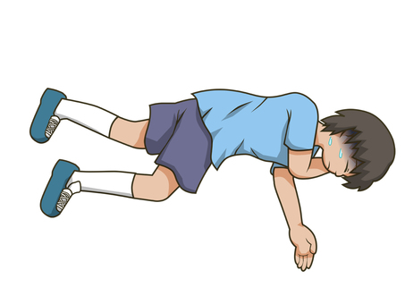 Recovery position [boy]