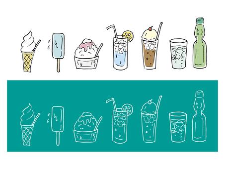 Summer drinks & food