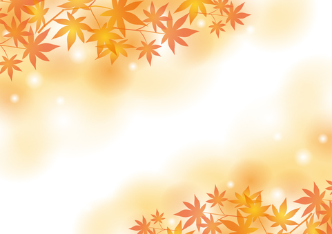 Autumn Material 009 Autumn Leaves Background
