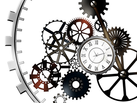 齿轮和手表