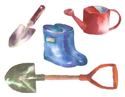 Garden work tool