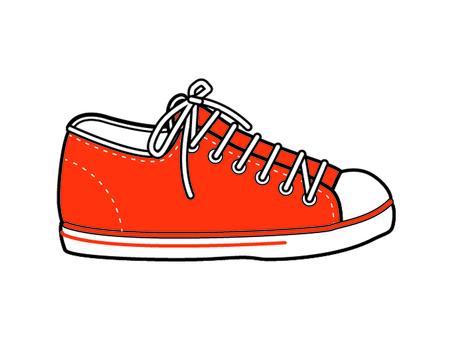 sneaker_orange