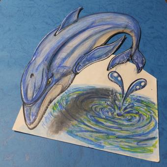 Flight dolphin 3D 1