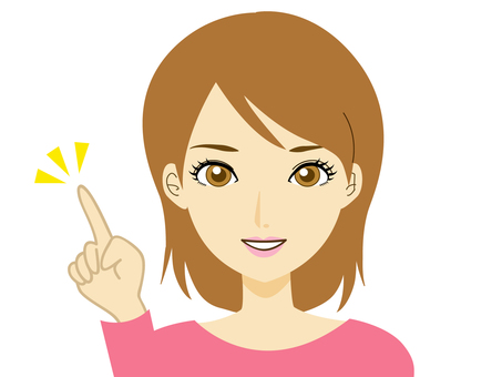 Maki-chan series pointing 2