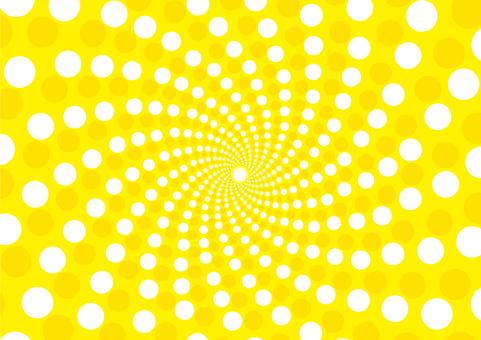 Background _ Swirl dot _ yellow