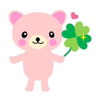 곰과 네잎 클로버