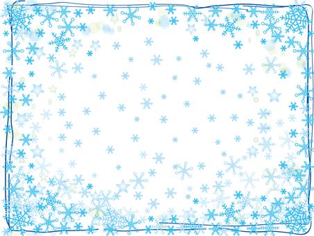 Snow crystal _ frame