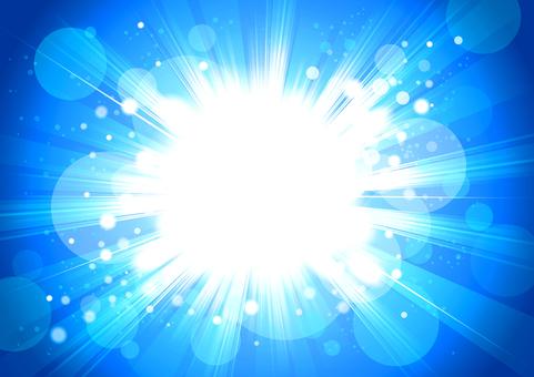 光圖像背景藍色