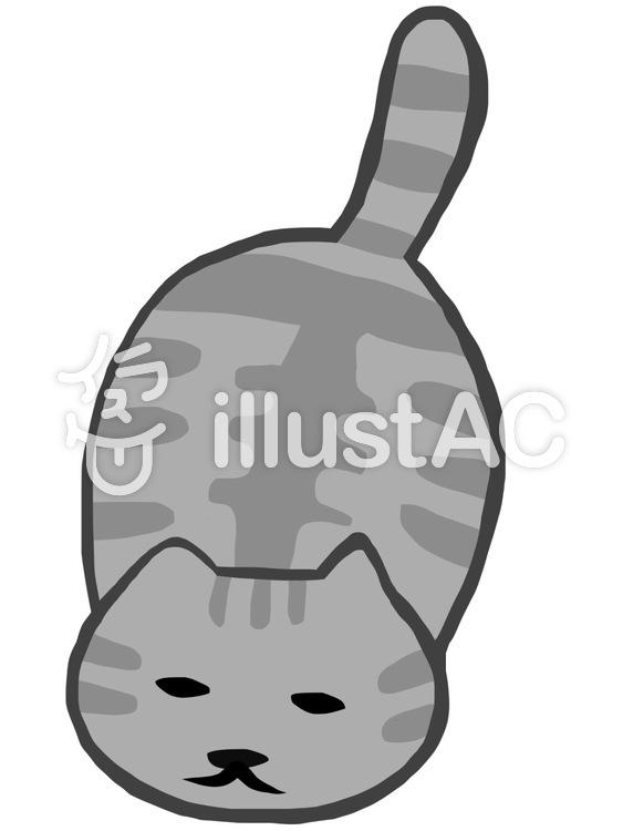 ツチノコ猫イラスト No 756692無料イラストならイラストac