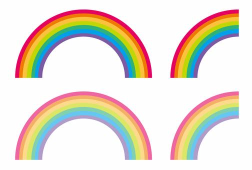 彩虹(半圆形)