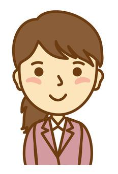 Shop assistant female 1