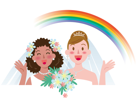Marriage between women-Rainbow 2