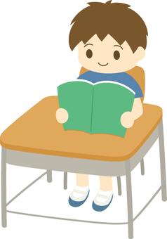 研究_真正的閱讀_男孩